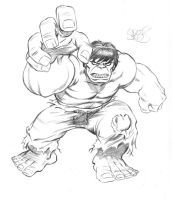 Hulk by Spears by markman777
