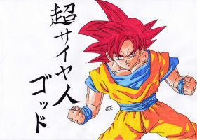 Dragonball Z Battle Of Gods - Goku SS GODOO! by TriiGuN