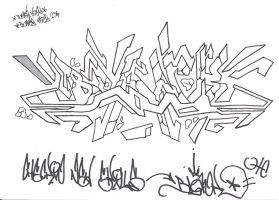 Blank piece outlined by MFBlank