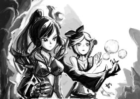 Wizard and Enchantress by hmongt
