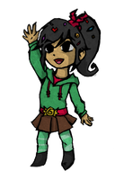 Wind Waker Vanellope by Nefairyious