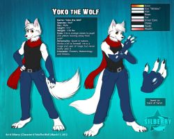 Ref Comm: Yoko the Wolf by Silberry