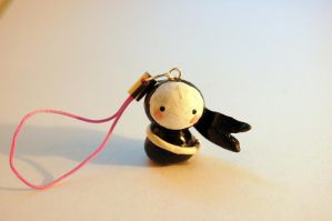 Kawaii Ninja Charm by FatCatCharms