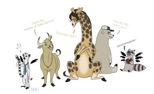 That time Gabriel turned everyone into animals by thatoddowl