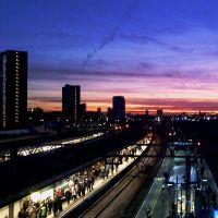 London Sunset by BlankestCanvas