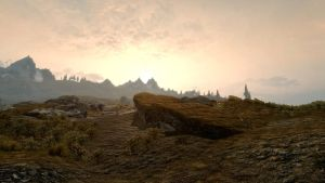 Landscape of Whiterun 26 by Marina17