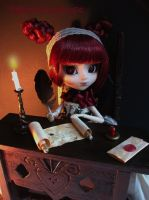 Writing desk by littlemissanthrope
