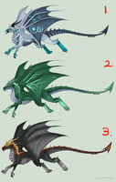 Dragon Adopts Auction (CLOSED) -5 POINT START- by Arklen