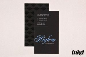 Elegant Business Card Template by inkddesign