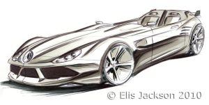 merc supercar by ewbj