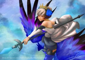 Valkyrie Princess, Gwendolyn. by jheaa
