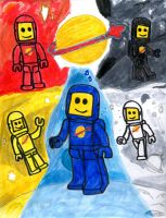 Lego Classic Space by SonicClone