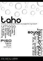 TAHO in typography by aremOgraphy
