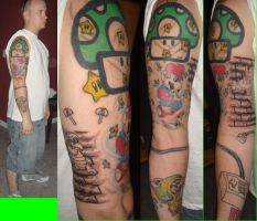 Super mario sleeve by autobotracing