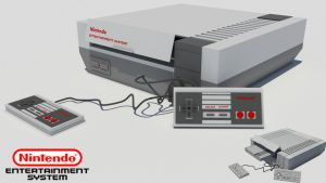 Nintendo Entertainment System (NES) by Mo3D
