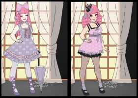 Bribs dress up doll party time by zambicandy