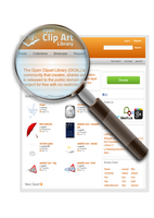 OpenClipArt on Magnifying Glass by hatalar205