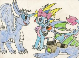 AT: Crystal, Whirlwind, and Zap by dragonpop1