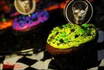 Chocolate Halloween Cupcakes by asainemuri