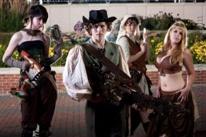 Steampunk Group by StudioSandM