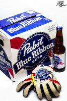 Pabst Blue Ribbon II by Mobster9