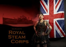 Royal Steam Corps by PhilosophyFetish