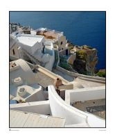 Scene of Santorini by archipirata