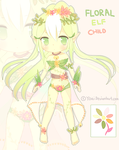 Floral Elf Adopt Auction [closed] by Yoai