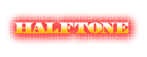 Halftone text by Rustyoldtown