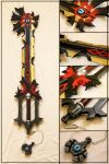 Chaos Ripper Keyblade by Sephiroths-Shadow