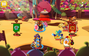 In-Game Image of the Arena in Angry Birds Epic by AngryBirdsStuff