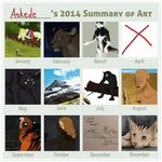2014 Art Summary by Askede