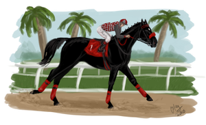 Rosie : Bob Hope Stakes by MistyofSunrise