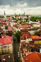 View of Old Tallinn by myst111