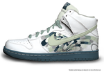 Nike Dunk Hi WAVES by autism-fre5h