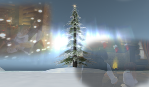 Second Life Christmas E-Card 2011 by SalmirAeon