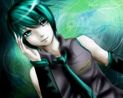 Hatsune Mikuo by Athena-King