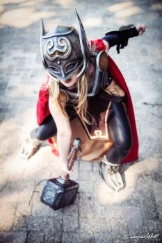 All New Thor Cosplay - Marvel VI by SheresCosplay