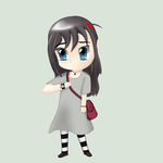 Request: Aoife (simple chibi) by veyori