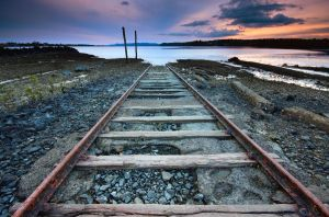 Tracks to Nowhere by chrisgin
