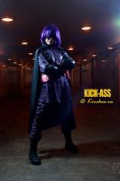 Hit-Girl by Kirchos