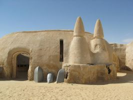 Tatooine Star Wars movie set 4 by jkno4u