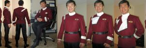 Monster Maroon Uniform by Marco Enterprises by galaxy1701d