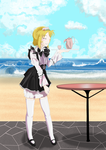 Maid in Paradise by ChazzVC