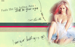 Avril Lavigne Wallpaper by Sevein18
