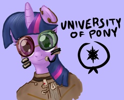 University of Pony (Pony Centauri) by Arrkhal