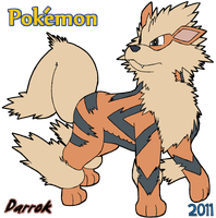 Legendary Arcanine by Darrok