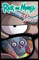 Rick and Morty: They Annoy by dwaynebiddixart