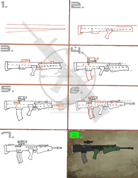 Bullpup Rifle Tutorial for Amateurs by TheRebornAce