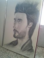 Jared Leto (Pencil Sketching) by shaixey